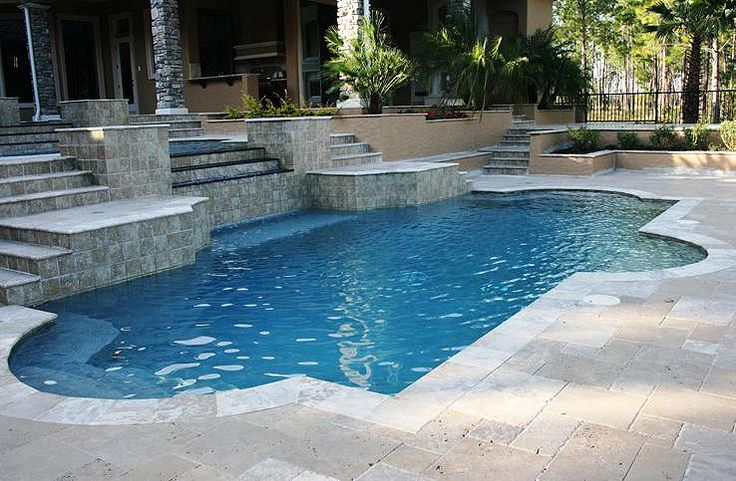 25 best ideas about in ground pool kits on pinterest - How to make a swimming pool in your backyard ...