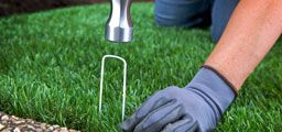 image of do it yourself synlawn artificial grass installation instructions