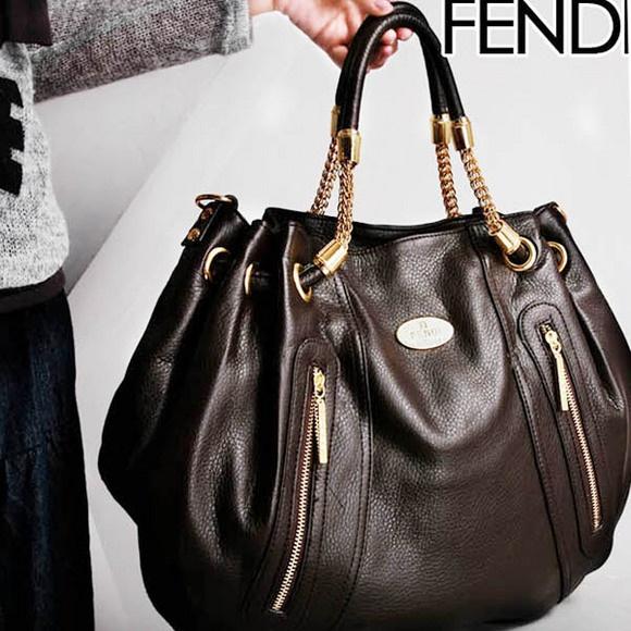 Fendi Leather Bag Women's