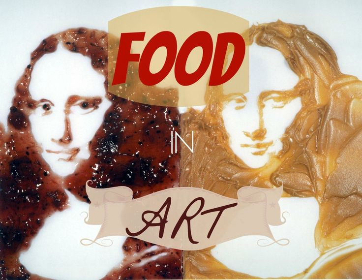 What does it mean to represent food in art? Is a PBJ Mona Lisa as good as the real thing? Read on to find out!