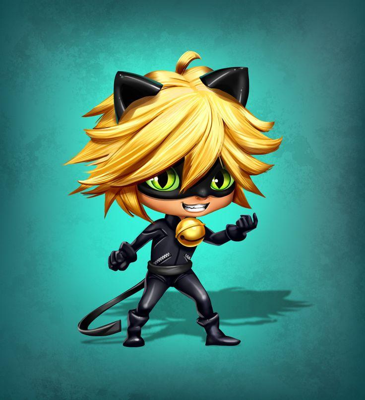 Chat Noir chibi