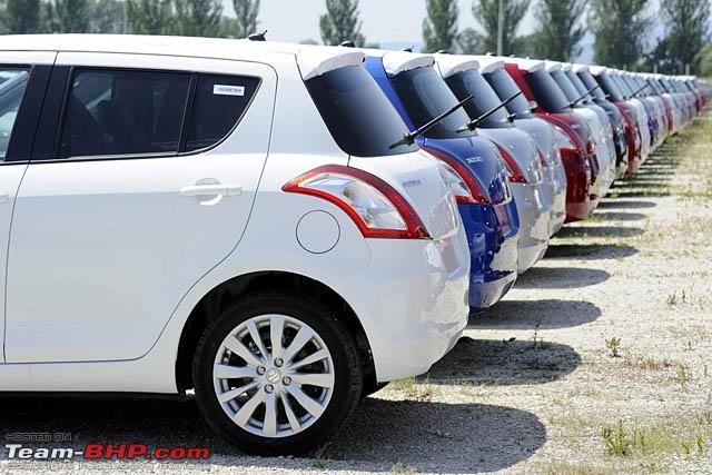 Suzuki Swift 2011 White