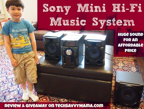 I entered 2 win @LeticiaTechSavvyMama #giveaway for the #Sony HiFi Music System from @Buydig.com Internet's Digital Superstore