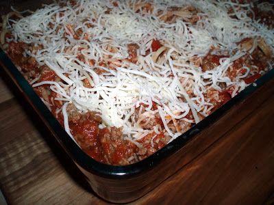 Gluten Free Baked Spaghetti