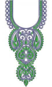 Длинные Арабский стиль Кординг шеи дизайн