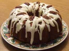 Cream Cheese Glaze Recipe - Recipe for Cream Cheese Glaze - Frosting Recipes..for pumpkin clove poundcake