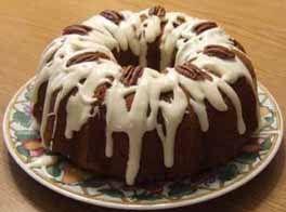Cream Cheese Glaze Recipe - Recipe for Cream Cheese Glaze - Frosting Recipes..for pumpkin clove poundcake