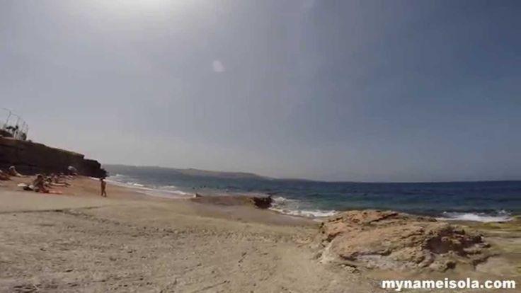 Malta: Bugibba Beach