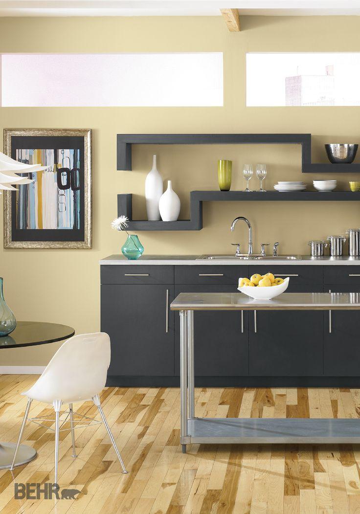 Behr Kitchen Cabinet Paint 85 best colorful kitchens images on pinterest | colorful kitchens