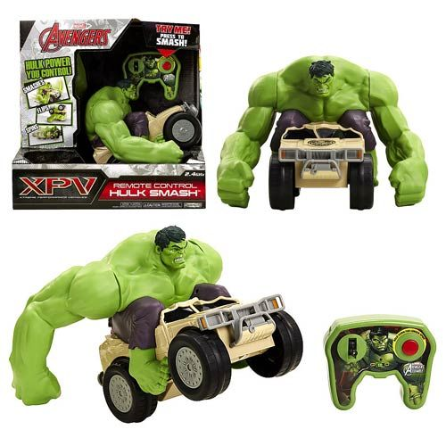 Hulk smash télécommandé, Épuisé, en boutique ou sur notre catalogue en ligne. Livraison rapide au Québec.  Achetez-le info@laboiteasurprisesdenicolas.ca