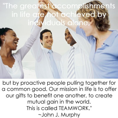 working together to achieve better health!