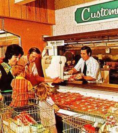 Publix Store, 1972.