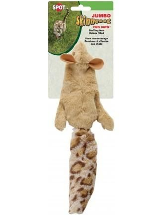 Spot Skinneeez Jumbo Squirrel For Cats Cats Squirrel Cool Cats