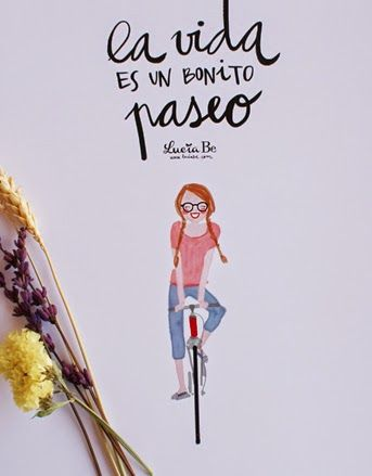 Totalmente in love del trabajo de Lucia Be.... una ilustradora así de alegre y optimista...hace de todo: desde invitacio...