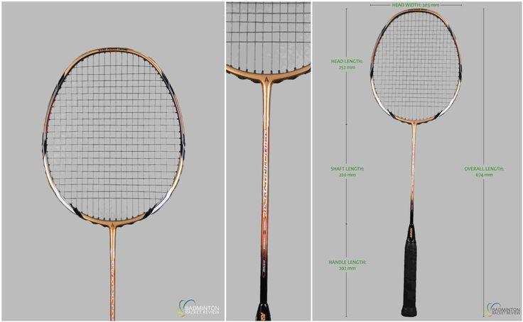 Ashaway Superlight 99SQ Badminton Racket