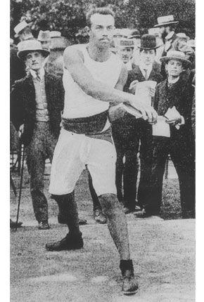 Rudolf Bauer pictures | Olympische Sommerspiele 1900/Leichtathletik. OS guld diskus 1900 Paris.