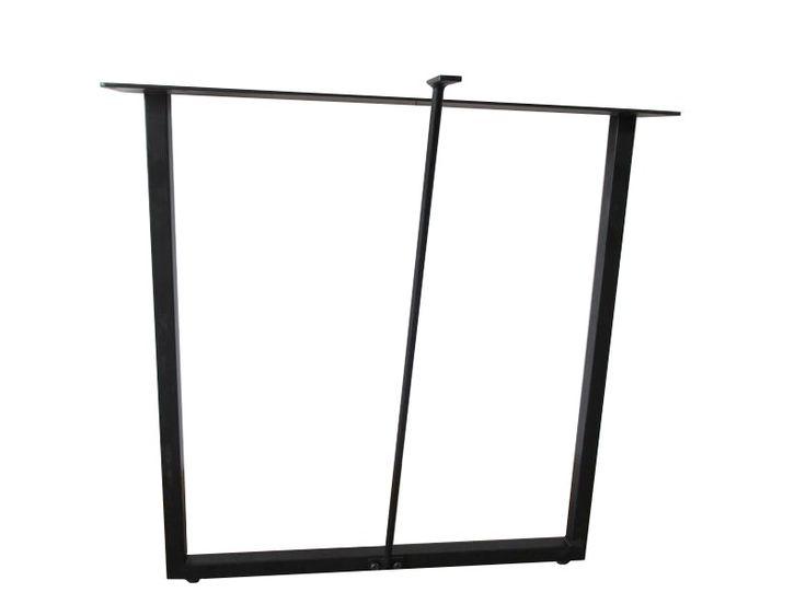 【楽天市場】テーブル脚 DIY □型スチール脚(ブラック) 細脚 2個入り おしゃれ オシャレ:家具のルーム工房