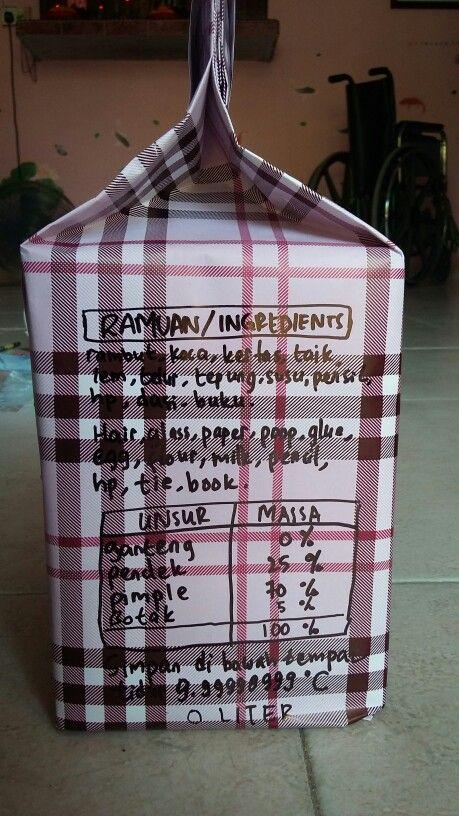 #simple #present #ide #birthday #ulangtahun #milk #susu