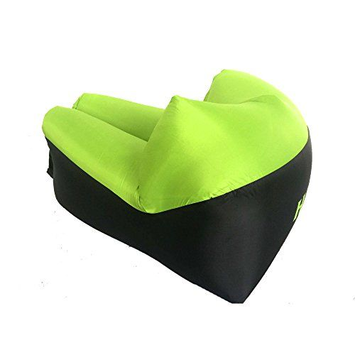 #Inflatable #Lounger #Air #Sofa #Chair with U-shape #neck #pillow and #handy #storage #bag for Camping&Hiking & #Swimming #pool to use as #mattress (outdoor&indoor) New Patented Product - Our new #Inflatable #sofa is large and comfortable, with 4 colors for choice: blue, green, purple and Camouflage color, much better than the traditional canoe shape. QUICK INFLATION - WITHOUT #AIR PUMP: #Inflatable is lightweight, compact and easy to transport in the #handy #storage #bag wit