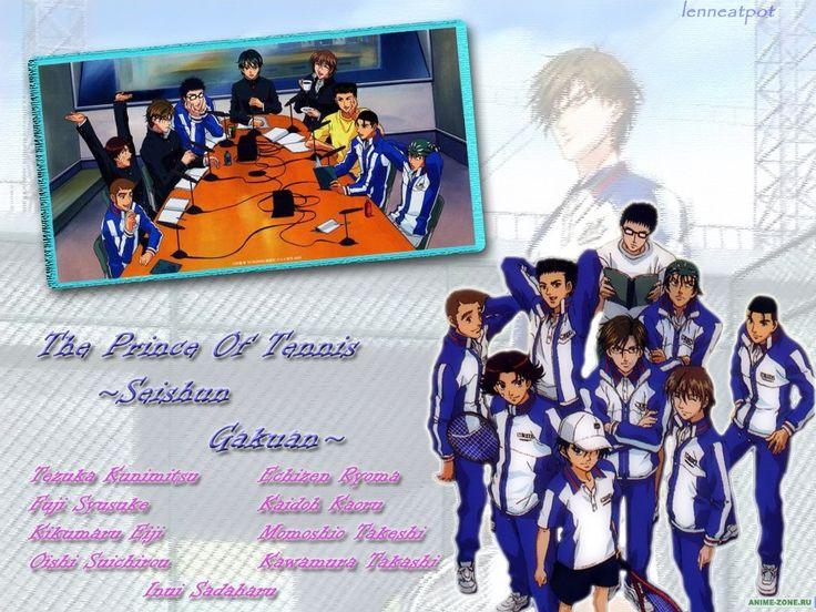 Аниме обои The Prince of Tennis: The National Tournament / Принц тенниса OVA-1 38805