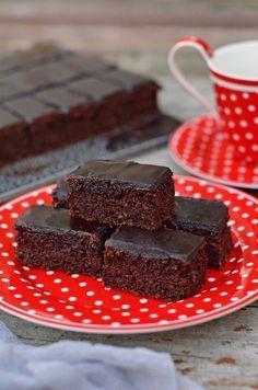 Puha pille, nagyon diós, nagyon kakaós, krémes csokimázzal