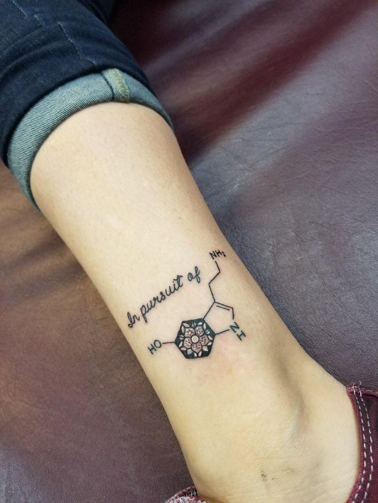 Serotonin Mandala Tattoo