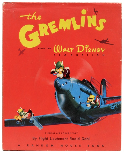 DAHL, Roald - The Gremlins - First edition, first impression. Roald Dahl's first book, and his one book with Walt Disney.