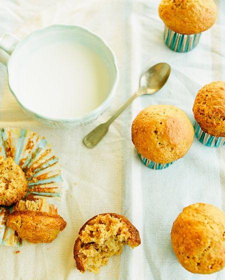 Muffins de maçã com Nestum
