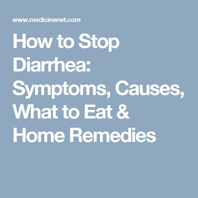 how to stop vomiting and diarrhea naturally