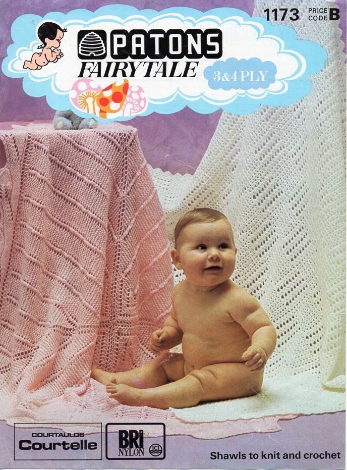 14 best Vintage baby crochet shawls images on Pinterest ...