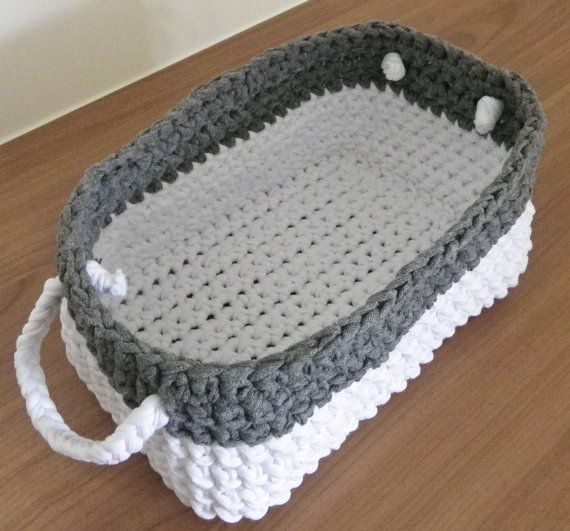 Knitting Basket With Handles : Best etsy faves images on pinterest crochet patterns
