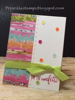 Time to look at another upcoming offering from the Occasions Catalog, Picture Perfect Birthday . Since I have a daughter-in-law who has a b...