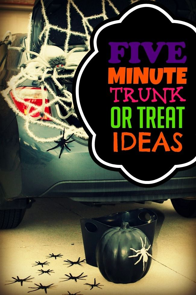 Look at this idea to do for a Trunk or Treat event Cute  Clever - trunk halloween decorating ideas