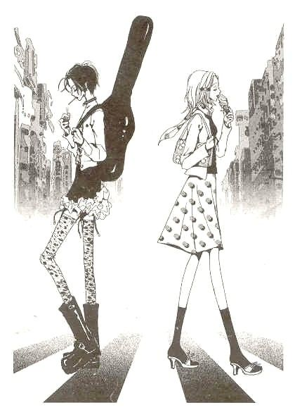 Nana - My favourite manga ever I wish it was finished but then again I never want it to end