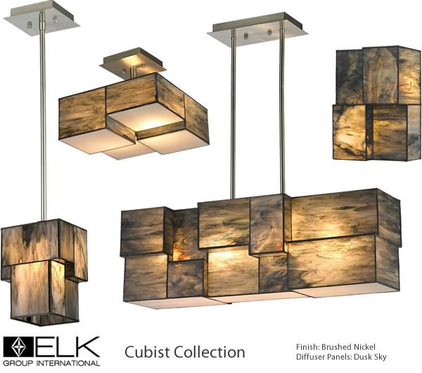 Elk group international cubist collection deep discount lighting