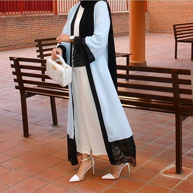 Abaya @jazoot.co 10% discount code : saris_10  #hijabfashion