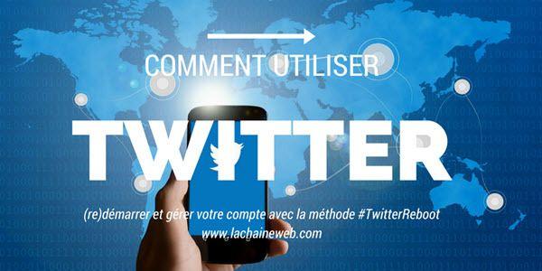 Comment utiliser Twitter et 7 profils à supprimer - Twitter Reboot http://www.lachaineweb.com/comment-utiliser-twitter-profils-supprimer/