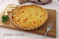 Cómo hacer quiche de verduras y queso fácil. Receta explicada paso a paso para preparar una tarta salada riquísima, en la que te cuento también cómo hacer masa quebrada.
