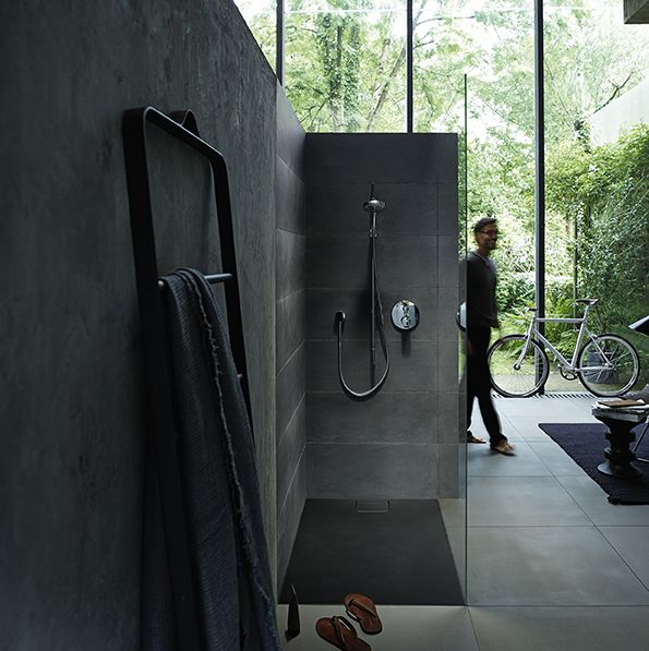 The Stonetto shower tray designed by EOOS brings nature in your bathroom.