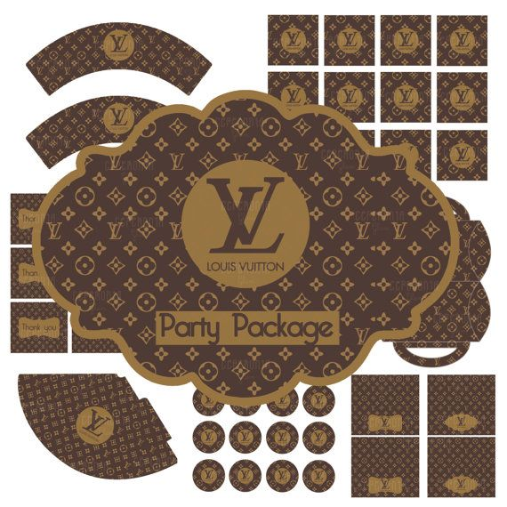 LOUIS VUITTON party package. The one where all the decorations, party favors and gifts are LV bags!!!!