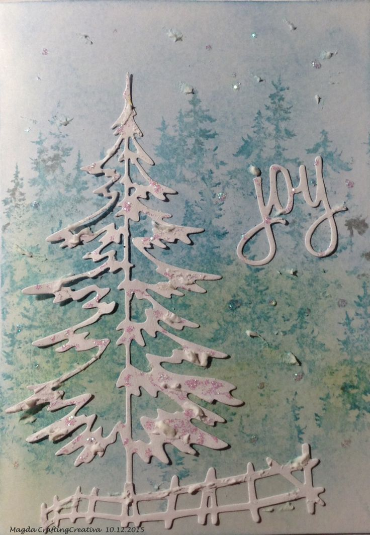 Tim Holtz's stamp ,die and Distress Ink,  Xmas 2015