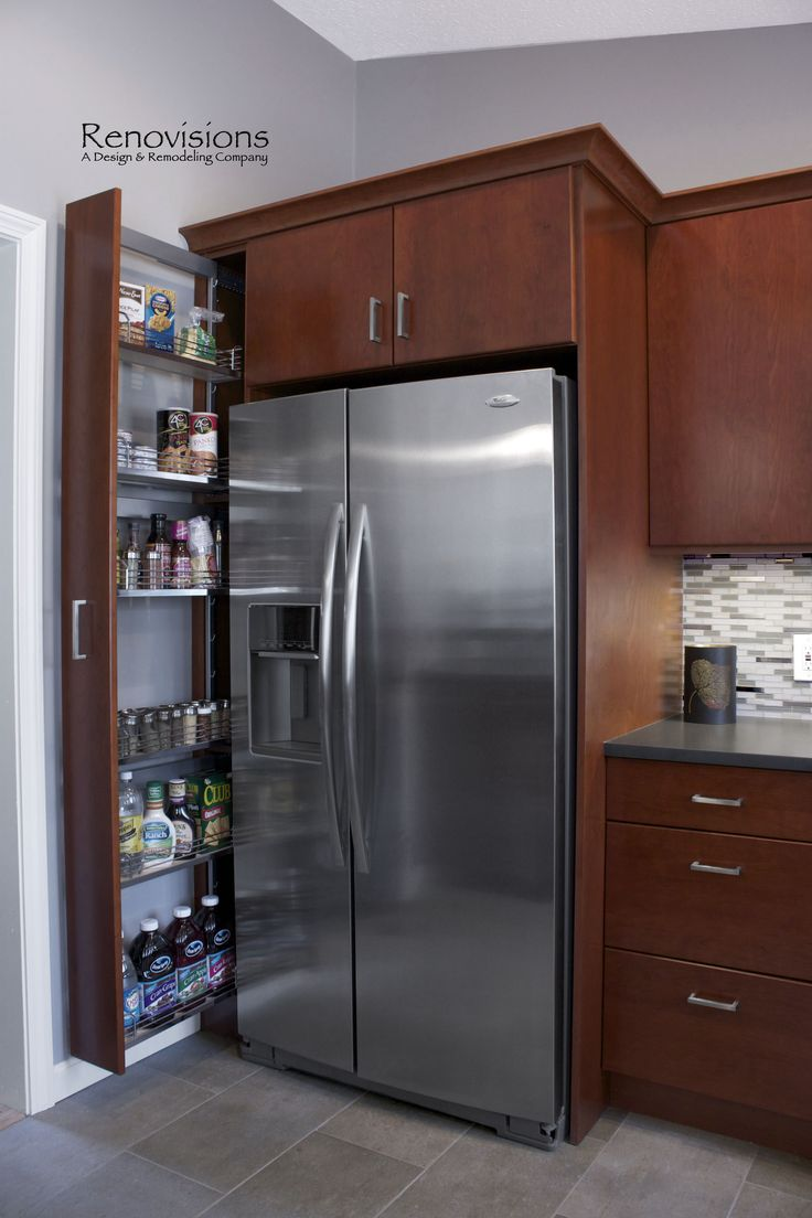Kitchen Design Refrigerator best 25+ refrigerator cabinet ideas on pinterest | kitchen