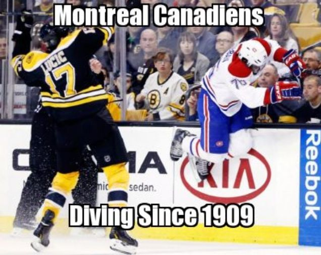 Bruins > Canadiens any day #Hockey #Humor Go Lucic go