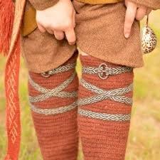 LIGUEROS PARA LAS POLAINAS O LAS CALZAS . . . . .. Sukkanauhat (Kram Rudych, Viking Age Historical Crafts)