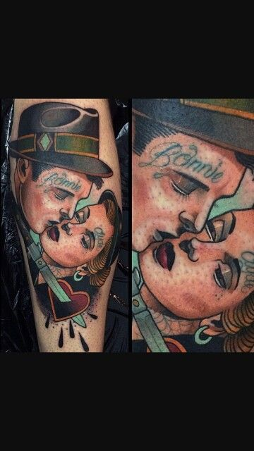 Bonnie And Clyde Tattoo: 17 Best Images About Tattoos