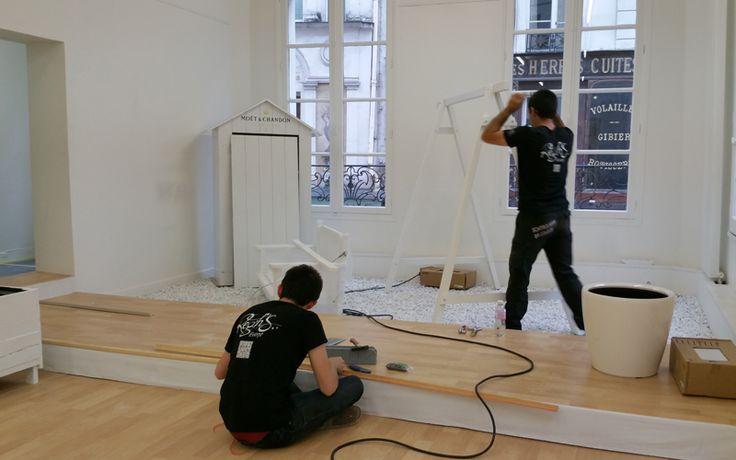 Une opération complètement givrée : Moët & Chandon, la Maison du Glaçon ! | Reghs Event