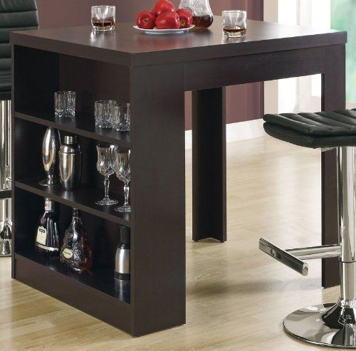 Monarch Specialties Cappuccino Hollow core 32 Inch by 36 Inch Counter Height  Table81 best Kitchen Counter height tables images on Pinterest  . 32 Inch Tall Dining Table. Home Design Ideas