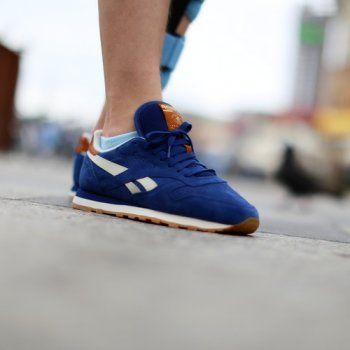 reebok buty classic leather suede