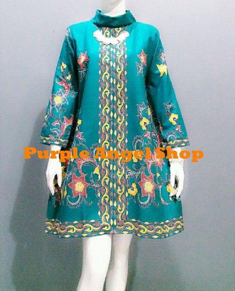 Beli Atasan Dress Blouse Muslim TUNIK JUMBO BIG SIZE Exclusive Turtleneck  Batik Champaka TOSCA dari Purple Angel Shop angelinakanakaredez - Bekasi  hanya di ... 98d24c2810