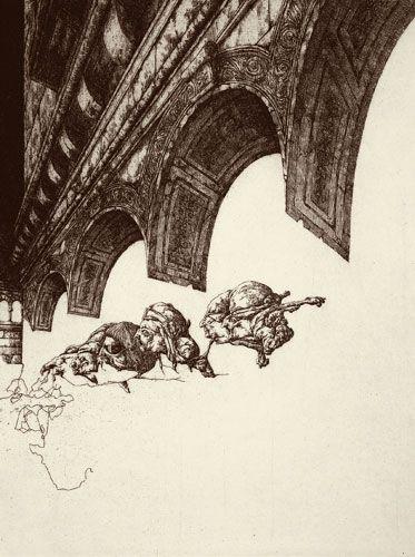 Giacomo Joyce II (1980) Plancha 22 x 29 Cm. Papel 38,5 x 53,5 Cm.